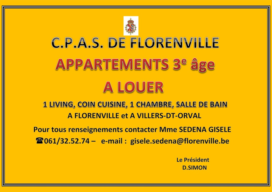 appartement 3eme age